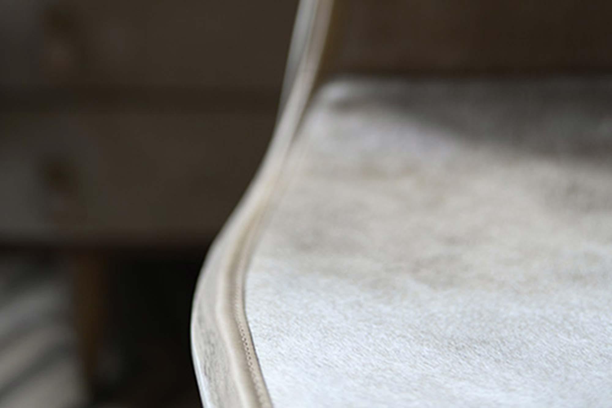 Galette de Chaise en peau de vache